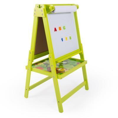 Gyermek rajztábla,kétoldalú, zöld - JUNGLE